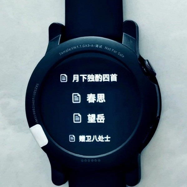 HarmonyOS на запястье. Опубликовано фото умных часов Huawei Watch 3 Pro