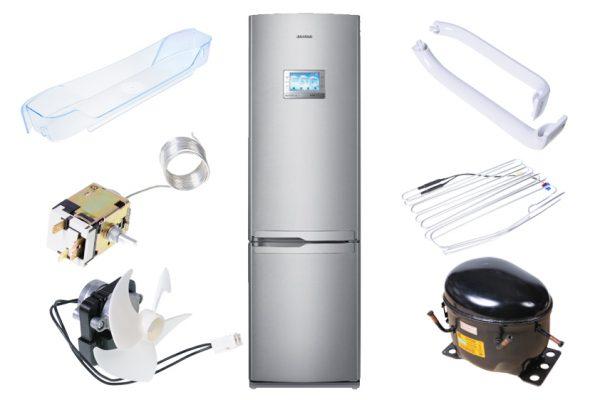 Запчасти и комплектующие для вашего холодильника