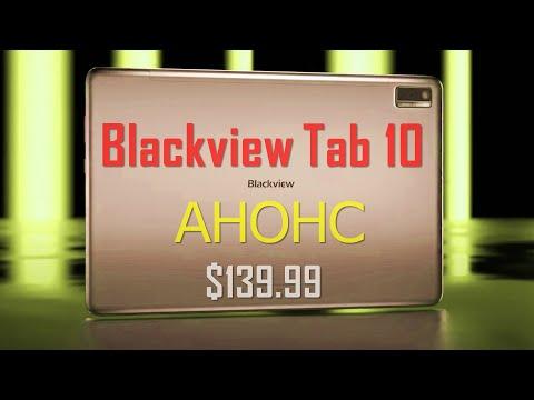 Анонс- 4G планшет Blackview Tab 10 - от $139.99 за корпус толщиной 8,8 мм
