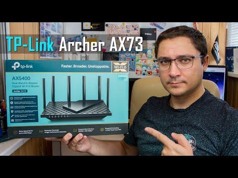 Видео обзор TP-Link Archer AX73 - Wi-Fi 6 роутер для удаленки!