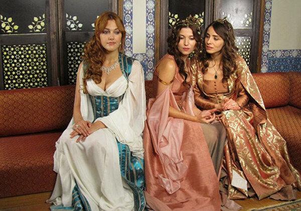 Главные героини известного турецкого сериала