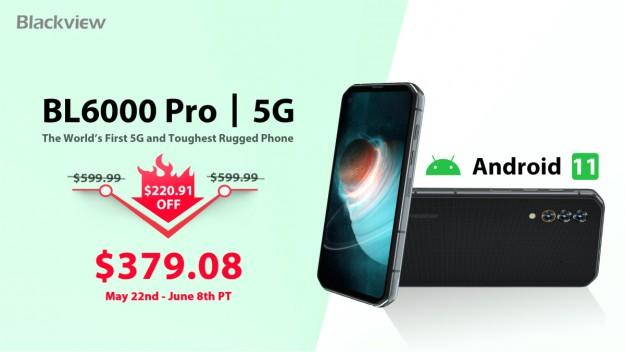 Лучшее предложение на защищенные смартфоны Blackview – скидка до 0,91 на ограниченной по времени распродаже
