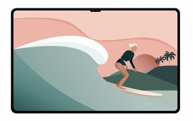 Гигантский топовый планшет Samsung с вырезом, почти как у iPhone на первых рендерах