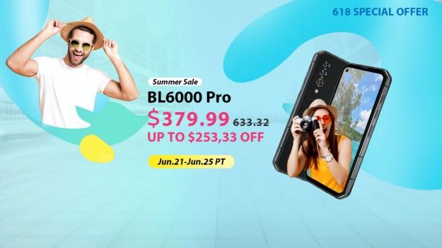 Blackview запускает самый быстрый смартфон A100 для фотосъемки и представляет список скидок к распродаже 618