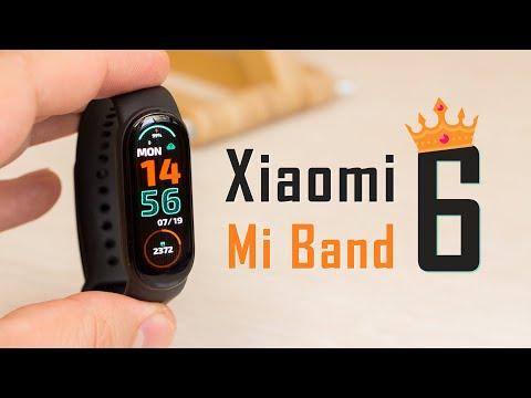 Видео обзор Xiaomi Mi Band 6 - Король в 6-м поколении!