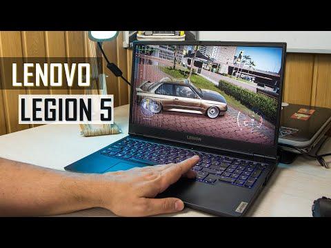Игровой ноутбук, еще один. Lenovo Legion 5 с GeForce RTX 3070. Видео обзор