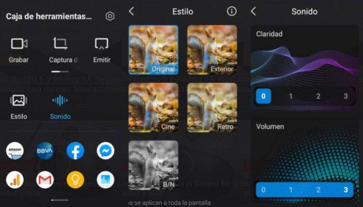 Что такое панель инструментов для видео и как ее использовать на Xiaomi