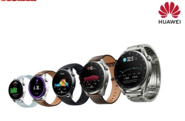 Серия Huawei Watch 3 в Украине: флагманские смарт-часы на базе HarmonyOS 2