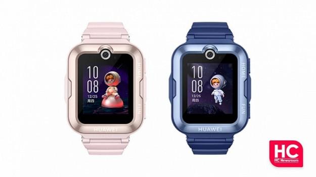 Представлены умные часы Huawei Children's Watch 4 Pro с 5-мегапиксельной камерой