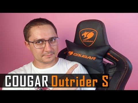 Видео обзор Cougar Outrider S - игровое кресло с комфортом!