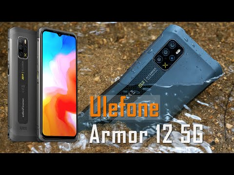 Видео анонс смартфона Ulefone Armor 12 и сравнение с конкурентом Oukitel WP13