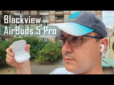 Видео обзор Blackview AirBuds 5 Pro - флагманские наушники с ANC и беспроводной зарядкой