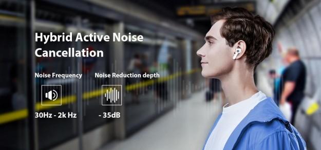 Blackview выпускает флагманские наушники-вкладыши AirBuds 5 Pro с гибридным шумоподавлением и превосходным звуком
