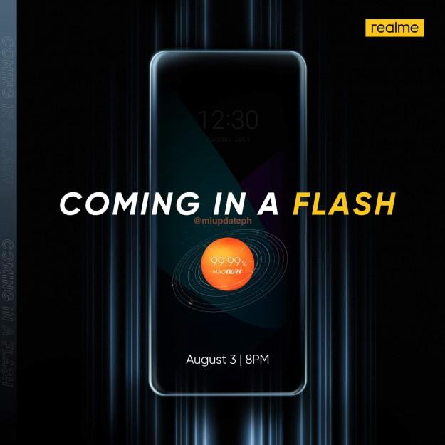 Анонсирован первый Android-смартфон с магнитной зарядкой — Realme Flash
