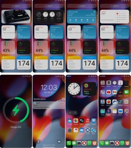 Новая тема XS 12 для MIUI 12 превратит ваш Xiaomi на iPhone