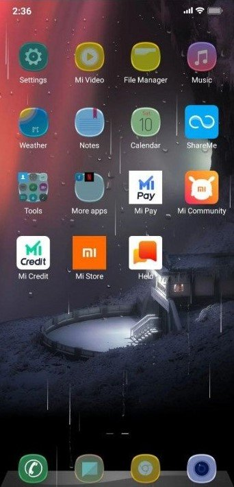 Модная тема Rainy mod для MIUI 12 покорила весь фанов Xiaomi