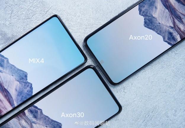 Невидимость камер Xiaomi Mix 4 и ZTE Axon 30 сравнили вживую