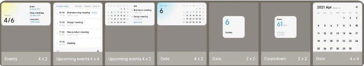Xiaomi добавили в MIUI 12.5 новые виджеты