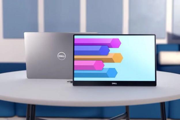 Dell представила свой первый портативный монитор — 14-дюймовый Dell C1422H