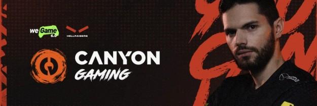 Canyon Gaming становится партнером киберспортивной команды HellRaisers на фестивале игровой культуры WeGame 6.0