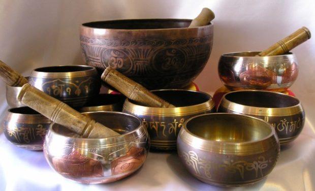 Настоящие поющие чаши разного диаметра ручной работы
