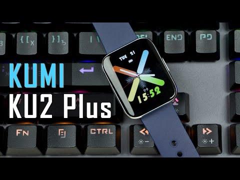 Видео обзор смарт часов KUMI KU2 Plus - металл и изогнутое стекло экрана