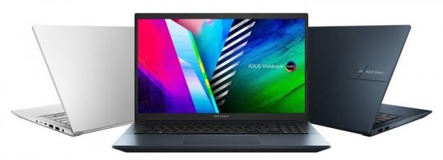 ASUS представила ноутбуки Vivobook Pro для творчества, с мощной начинкой и OLED-дисплеями