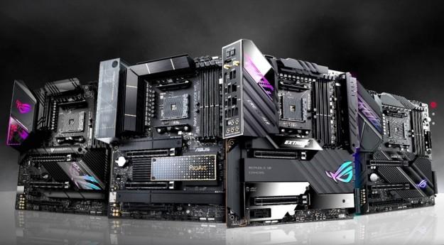 ASUS представляет четыре новые материнские платы серии X570