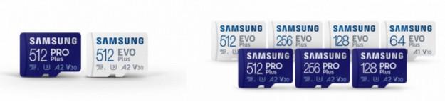 Карты памяти Samsung Pro Plus и Evo Plus формата microSD поддерживают интерфейс UHS-I
