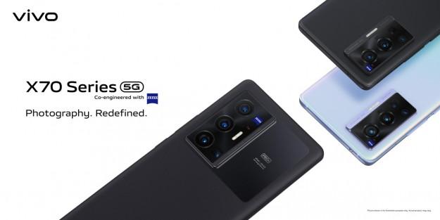 vivo представляет глобальную версию смартфонов X70 cерии