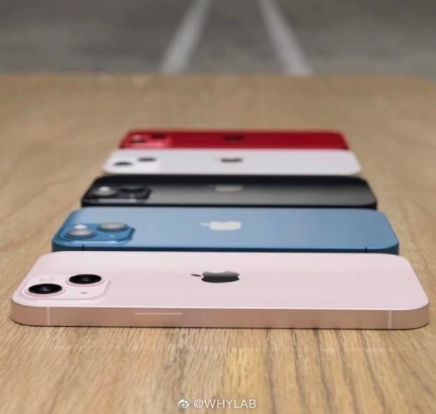 Первые реальные фото голубого iPhone 13 Pro и всех расцветок iPhone 13