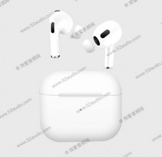 Наушники для iPhone 13 не придется долго ждать. AirPods 3 на подходе!