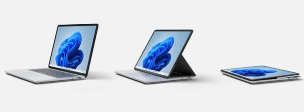 Microsoft представила Surface Laptop Studio — флагманский гибридный ноутбук с GeForce RTX