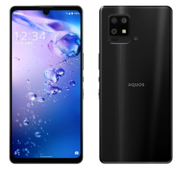 Sharp представила Aquos Zero6 — самый лёгкий 5G-смартфон