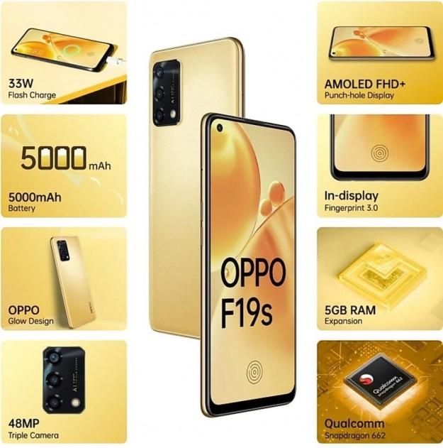 Представлен смартфон Oppo F19s