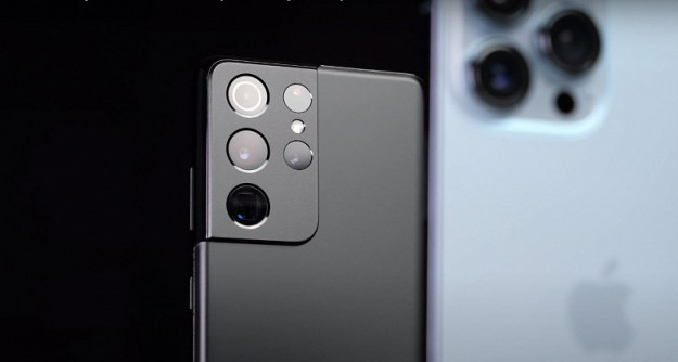 Битва титанов: iPhone 13 Pro Max и Samsung Galaxy S21 Ultra сравнили в реальных условиях